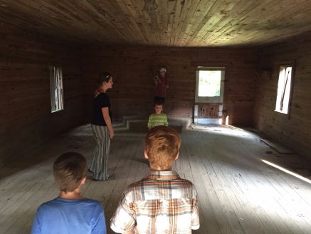 One-room schoolhouse