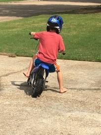 When you gotta ride, you gotta ride.